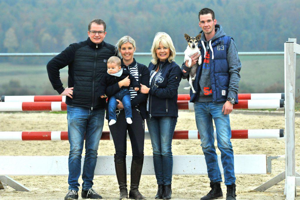 Familie Hammes-Eckel - Heidwaldhof - Reiterhof - Reiterferien - Ferienwohnung -Silwingen, Saarland - SaarLorLux